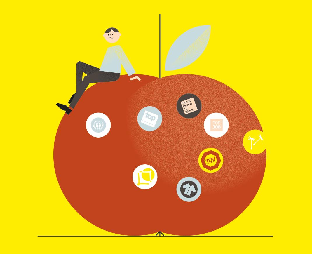 Nachhaltige Unternehmenskultur und ihre Labels